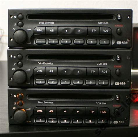 opel astra ii 2 g zafira vectra radio delco cdr500 zdjęcie na imged