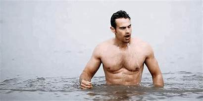 Theo James Sanditon Shirtless His Without Divergent