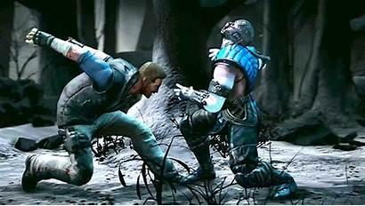 Mortal Kombat Cage Johnny Gifs Animated Sub