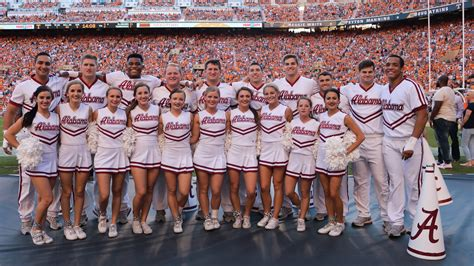2017 University of Alabama Cheerleaders
