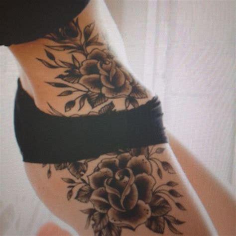 crazy rose tattoo  rose side tattoo  tattoochiefcom