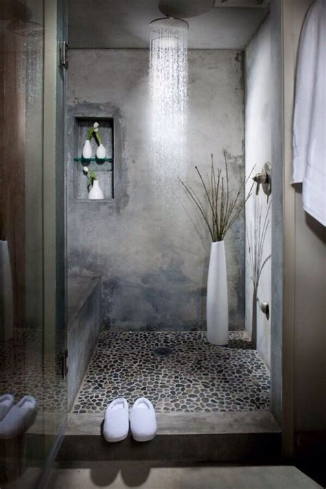 ideas  pebble tiles  pinterest pebble