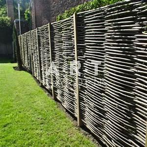 Panneau De Cloture En Bois : panneau en bois pour cloture id es de ~ Premium-room.com Idées de Décoration