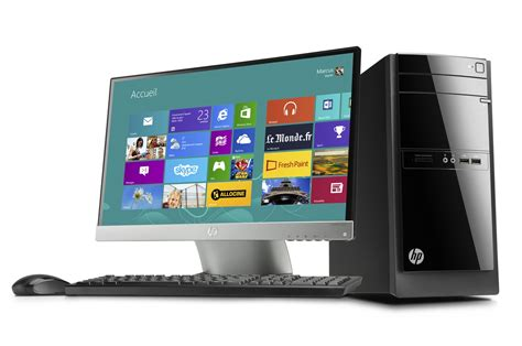 but informatique pc bureau pc de bureau hp 110 320nfm 4021169 darty
