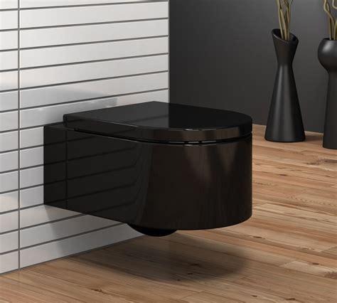 wand wc schwarz schwarze donna wand h 228 nge wc toilette mit softclose sitz ebay
