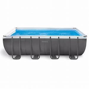 Piscine Tubulaire Intex : piscine tubulaire intex ultra silver x x m ~ Nature-et-papiers.com Idées de Décoration