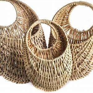 Wall, Wicker, Baskets, -, Baskets, Buckets, U0026, Boxes