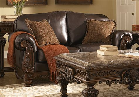 Shore Loveseat by Shore Leather Living Room Set Zion