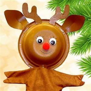 Renne En Carton : marionnette rudolph le renne tuto de bricolage animassiettes ~ Melissatoandfro.com Idées de Décoration