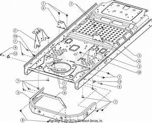 Troy Bilt 17arcacq011 Mustang Xp 50  2016  Parts Diagram