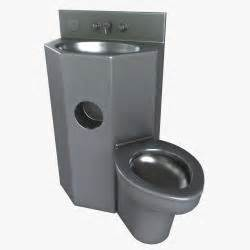 prison toilet and sink prison toilet sink combo 3d models grabcad
