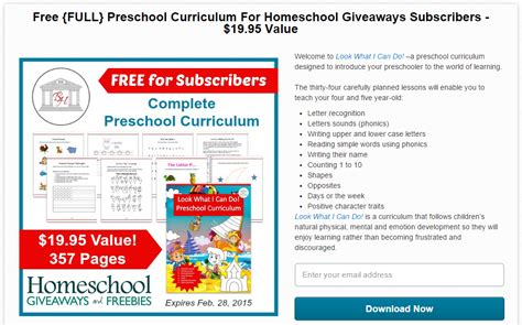 free preschool homeschool curriculum 389 | FREEpreschoolcurriculum