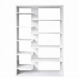 Bücherregal Weiß Hochglanz : b cherregal luca hochglanz wei lackiert ~ Whattoseeinmadrid.com Haus und Dekorationen
