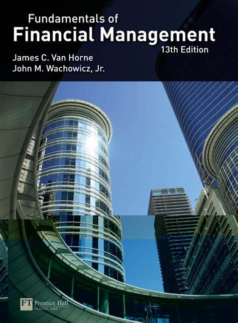 fundamentals  financial management  edition