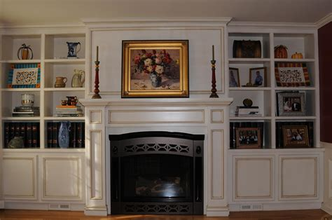 Bookcases Next To Fireplace Trend Yvotubecom