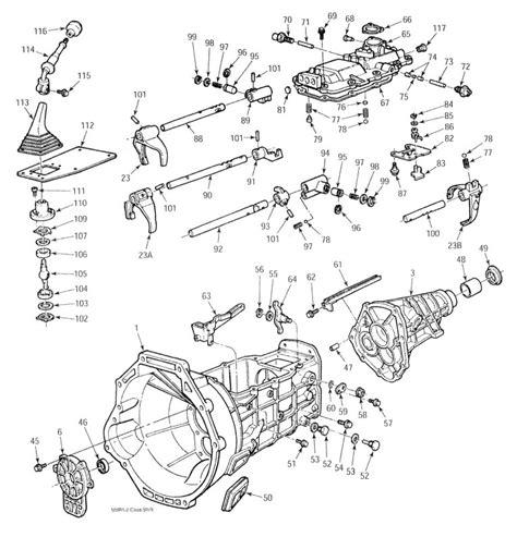 Ford Ranger Transmission Wiring by Ford Ranger 5 Speed Transmission With Transmission Parts