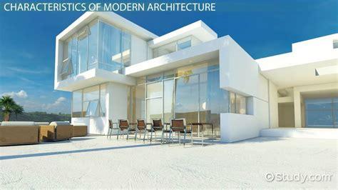 Modern Architecture Characteristics & Style Video