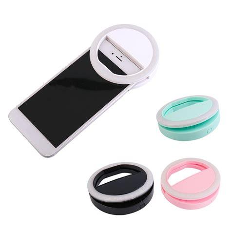 led light for phone 2017 new portable universal selfie ring flash led light
