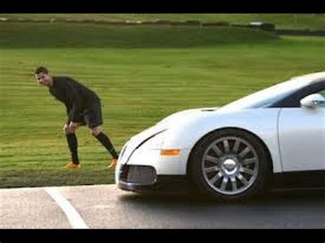 He bought this car in 2016 after achieving champions league victory with real madrid. CRISTIANO RONALDO RACING A BUGATTI - YouTube
