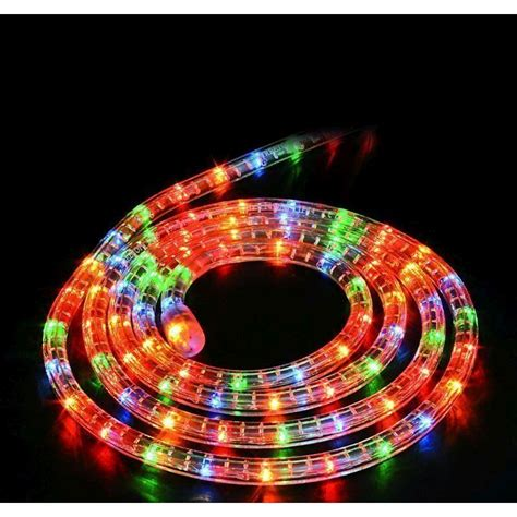 static rope light with multi coloured 8m buy online at qd stores
