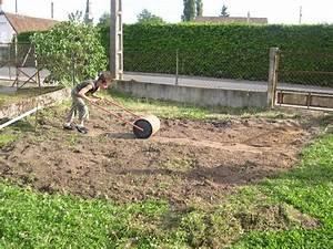 Preparation Terrain Pour Piscine Hors Sol Tubulaire : piscine autoport e niveler terrain ~ Melissatoandfro.com Idées de Décoration