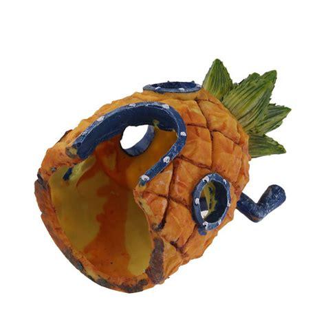 Spongebob Fish Tank Ornaments Australia by Spongebob Squarepants 13cm Pineapple House Fish Tank
