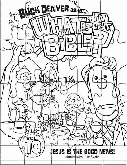 Coloring Puzzles Pages Jesus Puzzle Bible Pieces