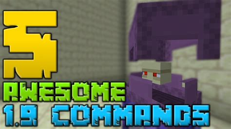 5 Awesome Minecraft 19 Commands Youtube