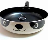 panda frying pan Eight creative kitchen tools add fun to your cooking - Hometone