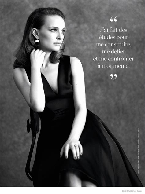 natalie portman channels classic hollywood beauty  dior