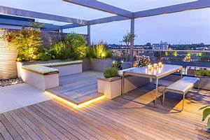 Roof Terrace Design penthouse apartment King's Cross