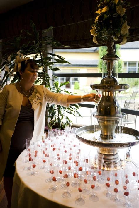champagne fountain magnificence fountain design ideas