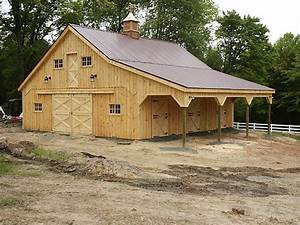 horse barn with metal roof wood siding With buy a horse barn