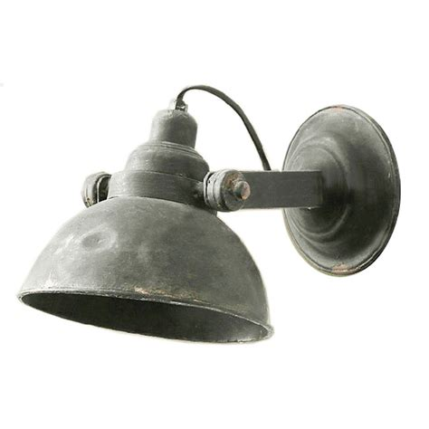 loft rusted industrial metal wall sconce 9941 free ship