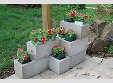Ten Amazing Ways to Make Your Own Cinder Block Planters