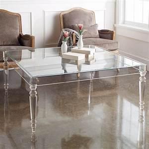 acrylic coffee table legs derektime design decorate With lucite coffee table legs
