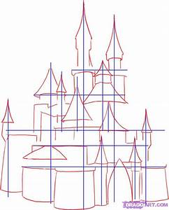 Step 2. How To Draw A Medieval Castle