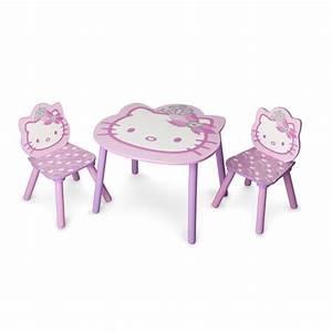 Table Enfant Avec Chaise : delta children hello kitty table 2 chaises enfant achat vente table jouet d 39 activit ~ Teatrodelosmanantiales.com Idées de Décoration