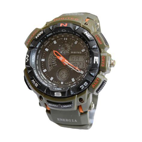 digitec cowok jual digitec dg2044tgor jam tangan pria green