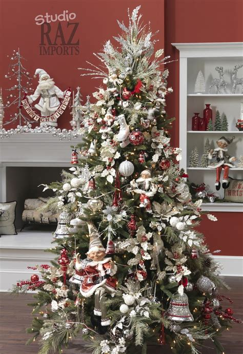 raz  christmas trees images  pinterest