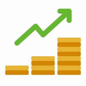 Free Coin Statistics Icon Symbol Download In Png Svg