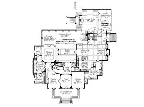 house plan azalea hall stephen fuller  house