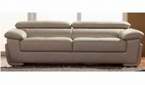 Canapé 4 Places Cuir : canap cuir 4 places royal sofa id e de canap et meuble maison ~ Teatrodelosmanantiales.com Idées de Décoration