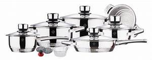 Batterie Cuisine Induction : batterie de cuisine induction inox ~ Premium-room.com Idées de Décoration
