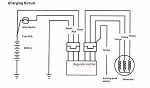 Two Wheels And A Nut  Sym Vts 200 Rectifier  Regulator