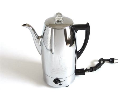 Universal Coffeematic Coffee Percolator 4438 Vintage Chrome Krups Coffee Maker Maintenance The Bean Card Programmable Instructions Green Tea Latte Stay Savoy Turbo Krup Machine Review Hipster Loft
