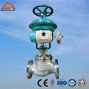 China Diaphragm Type Pneumatic Globe Control Valve With