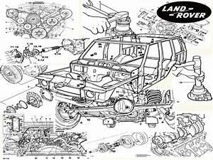 Range Rover  1995  - Service Manual