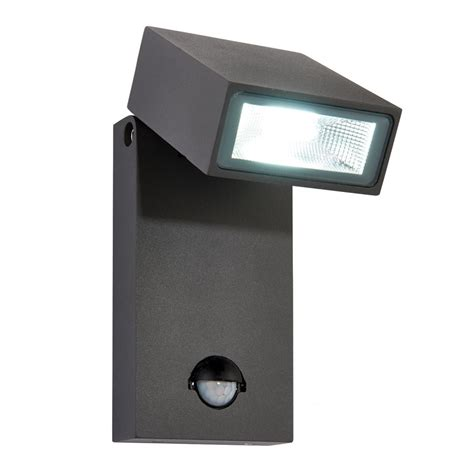 outdoor pir led wall lights 67686 morti pir led outdoor wall light automatic