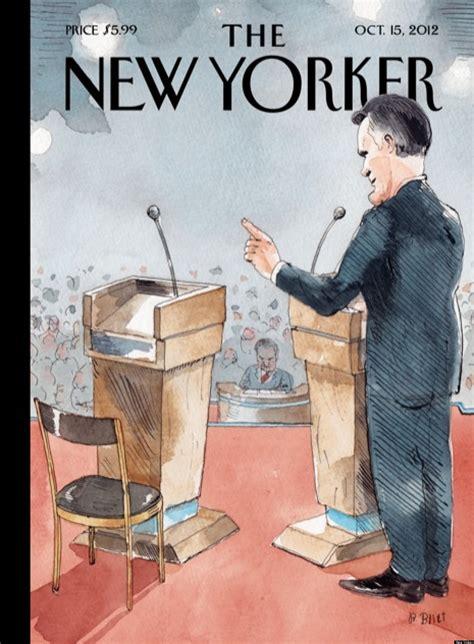 yorker debate cover showcases obamas poor performance